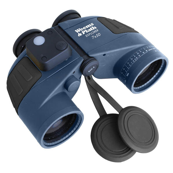 Weems & Plath 7x50 Explorer Binocular w/ Compass - Click to View Check-out Coupon