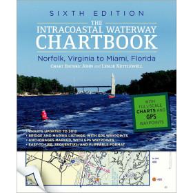 Intracoastal Waterway ICW Chartbook Norfolk to Miami, 6th Ed.