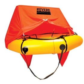 Revere Life Raft 6 Coastal COMPact CANOPY Valise