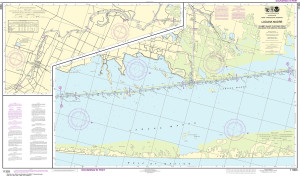 NOAA Nautical Chart - 11303 Intracoastal Waterway Laguna Madre - Chubby Island to Stover Point, including The Arroyo Colorado