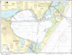 NOAA Nautical Chart - 11309 Corpus Christi Bay