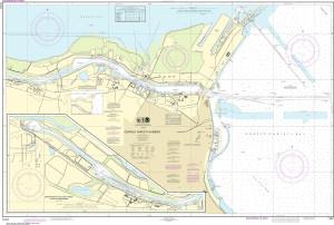 NOAA Nautical Chart - 11311 Corpus Christi Harbor