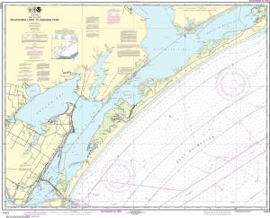 NOAA Nautical Chart - 11313 Matagorda Light to Aransas Pass
