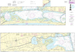 NOAA Nautical Chart - 11315 Intracoastal Waterway Espiritu Santo Bay to Carlos Bay including San Antonio Bay and Victoria Barge Canal