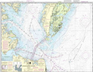Training Chart - Chesapeake Bay Entrance