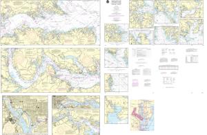 NOAA Chart - 12285 Potomac River; District of Columbia