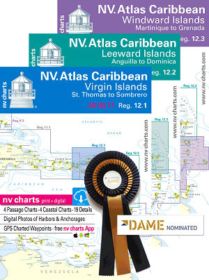 NV. Charts Caribbean All Three Sets, One Low Price