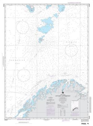 NGA Nautical Chart - 43000 Lofoten to Spitsbergen