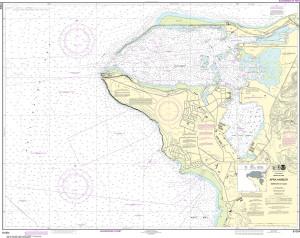 NOAA Nautical Chart - 81054 Mariana Islands Apra Harbor, Guam