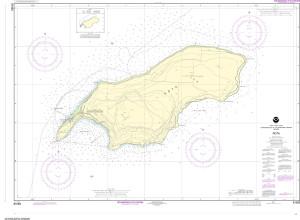 NOAA Nautical Chart - 81063 Commonwealth of the Northern Mariana Islands Rota