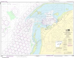 NOAA Nautical Chart - 81076 Commonwealth of the Northern Mariana Islands Saipan Harbor