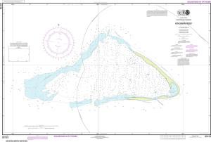 NOAA Nautical Chart - 83153 United States Possesion Kingman Reef