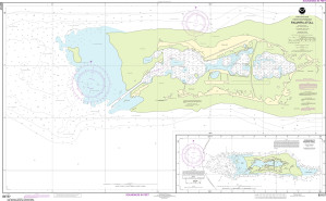 NOAA Nautical Chart - 83157 Palmyra Atoll; Approaches to Palmyra Atoll