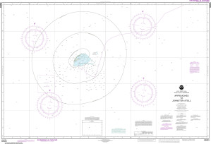 NOAA Nautical Chart - 83633 United States Possession Approaches to Johnston Atoll