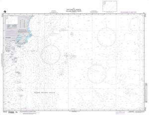 NGA Nautical Chart - 97015 East Coast of Honshu incl. Nampo-Shoto (OMEGA)