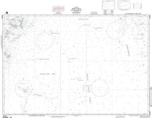 NGA Nautical Chart - 97026 Nansei Shoto including Daito Shoto (Ryuku Islands) (LORAN-C)