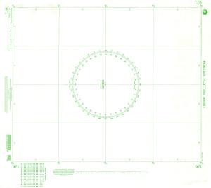 NGA Nautical Chart - 971 Plotting Chart 971