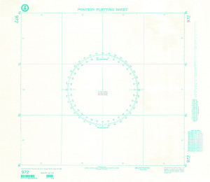 NGA Nautical Chart - 972 Plotting Chart 972