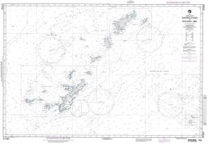 NGA Nautical Chart - 97460 Amamio-Shima to Okinawa-Jima