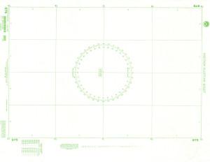 NGA Nautical Chart - 975 Plotting Chart 975