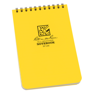 All Weather Pocket Journal Hip Notebook