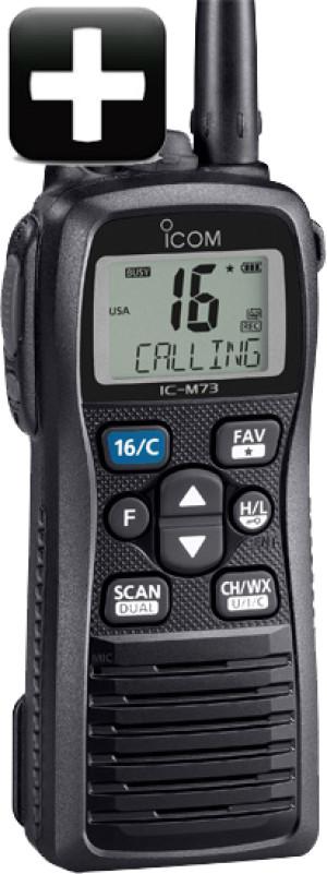 Icom M73+ Plus Version