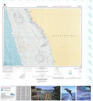 Bathymetric Nautical Chart - F-56 Forks