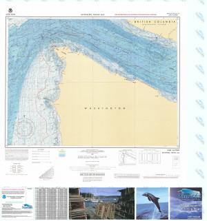 Bathymetric Nautical Chart - F-61 Cape Flattery