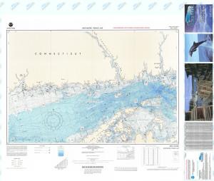 Bathymetric Nautical Chart - F-99 New Haven