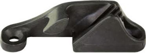 Club 420 Clam Cleat With Open Hook for Spinnaker Guy: STARBOARD Side