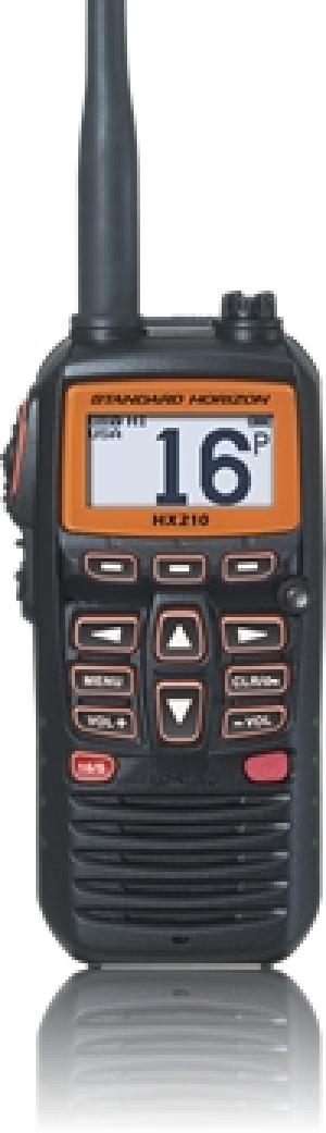 Standard Horizon HX210 Floating 6W Portable VHF