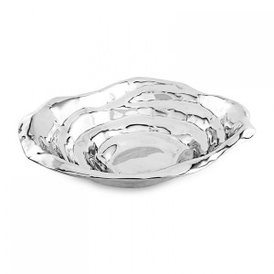 Beatriz Ball Ocean Dunes Oval Bowl (Large)