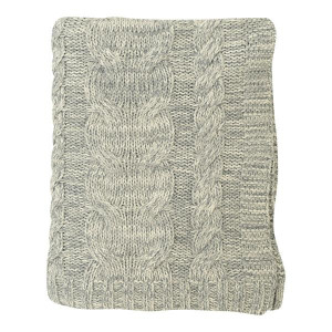 Darzzi Nautical Chunky Braid Throw Blankets