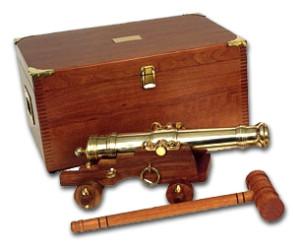 Herreshoff Cannon w/ Case