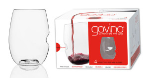 GoVino Acrylic Wine Glasses