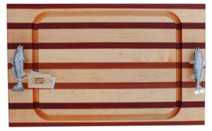 Soundview Millworks Nautical Steak Board, Large