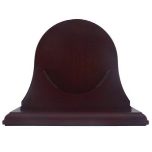 Weems & Plath Single Mahogany, Base W/ Back Panel for Atlantis Collec