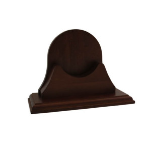 Weems & Plath Single Mahogany Base for Endurance II 115 Series