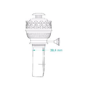 Weems & Plath DHR 15 Inch Burner for 8207