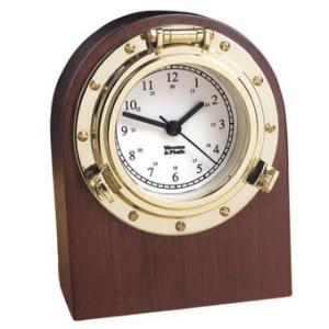 Weems & Plath Porthole Desk Clock