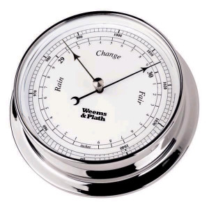 Weems & Plath Chrome Endurance 085 Barometer