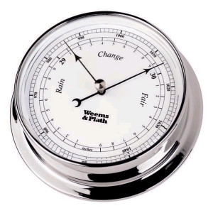 Weems & Plath Endurance 125 Barometer, Chrome