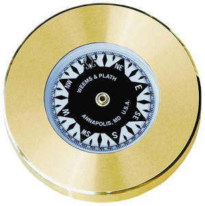 Weems & Plath Brass Chart Weight Compass