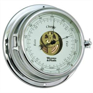 Weems & Plath Chrome Endurance II 135 Open Dial Barometer