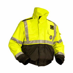 Mustang ANSI High Visibility Classic Bomber Jacket - T3
