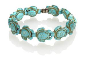 Low Tide Bracelet Turtle Magnesite Turquoise