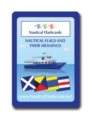Nautical Flashcards Nautical Flags Set