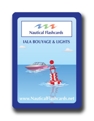 Nautical Flashcards IALA Buoyage Set