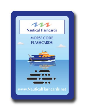Nautical Flashcards Morse Code Set