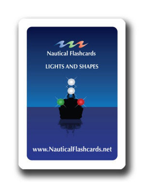 Nautical Flashcards Lights, Shapes Set